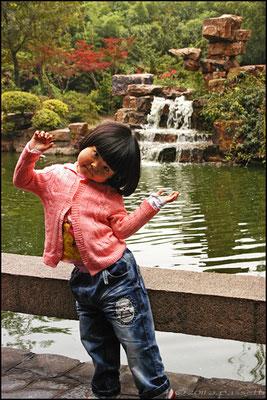 """""""I will be a great tourist guide"""" - Ge Garden, Yangzhou"""