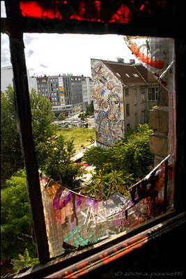 View from Tacheles, Berlin