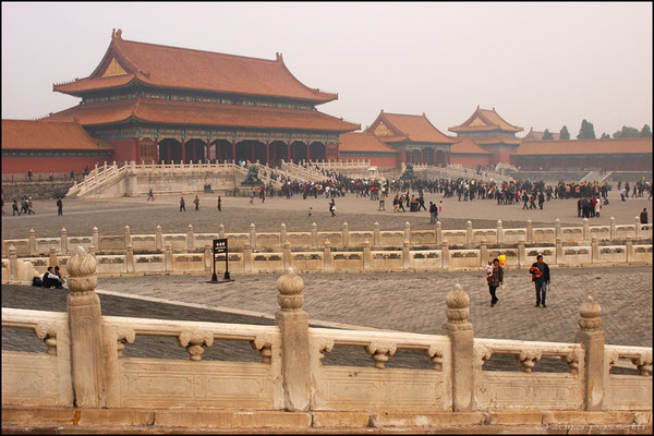 Gate of Supreme Harmony at the Forbidden City, Beijing