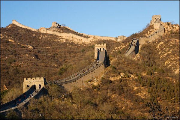 Northern section of the Great Wall at Badaling