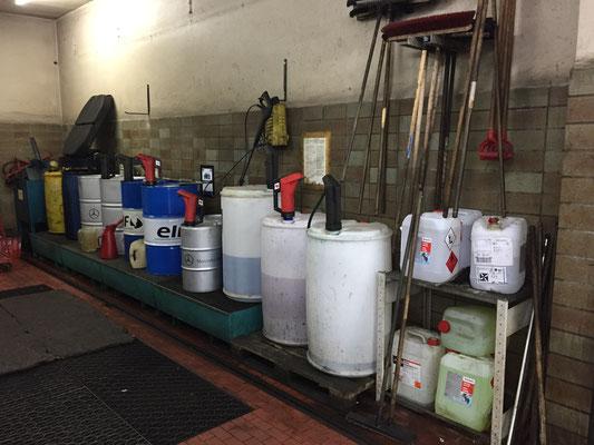 Zentrale Sammelstelle für Abfälle