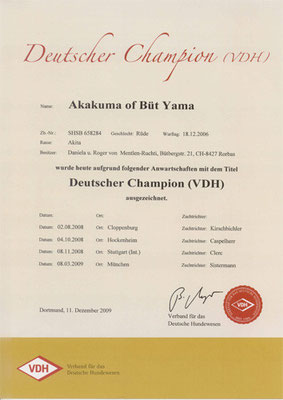 "© Akita Zucht ""of Büt Yama"" 