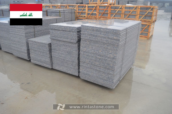 Our stones export to Iraq.