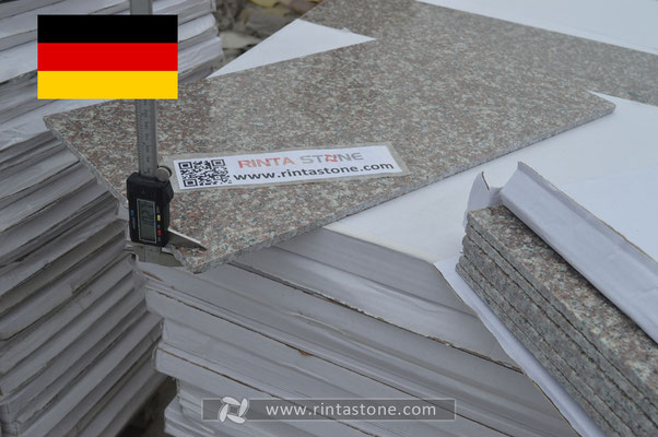 Our stones export to Germany,there are more clients repeat orders from us.