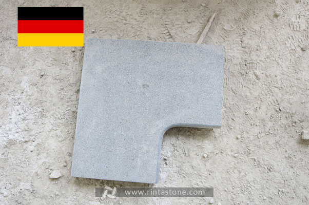 Our stones export to Germany,keep our client's information secret,we are not show more photos.