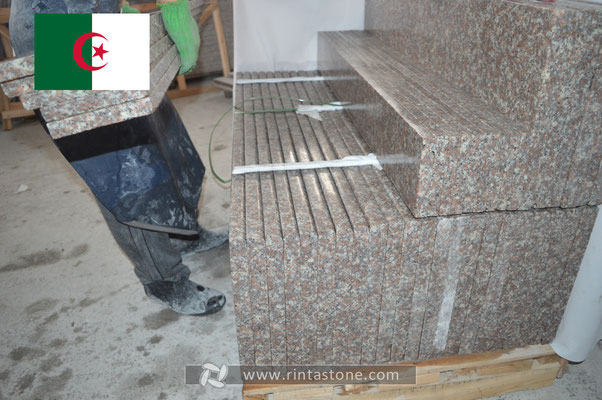 Our stones export to Algeria.