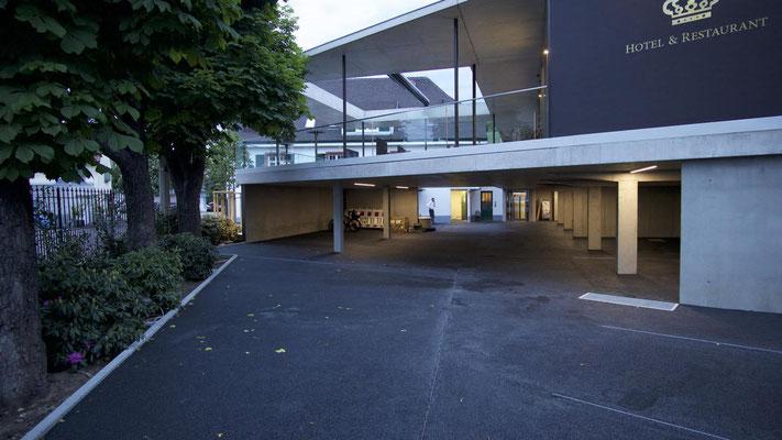 Erweiterung & Umbau; Hotel Krone in Weil am Rhein