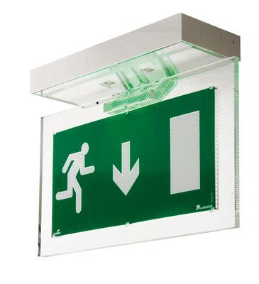 Électricité générale : Le BAES (bloc autonome d'éclairage sécurité) peut avoir des fonctions différentes selon le type d'établissement. .