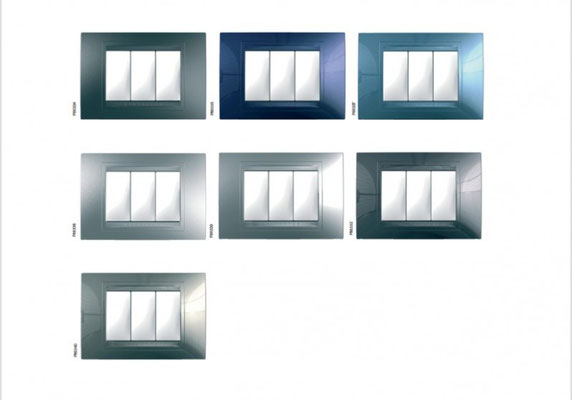 Électricité générale : SCHNEIDER ÉLECTRIC s'est spécialisé dans l'appareillage haut de gamme avec des finitions très variées.