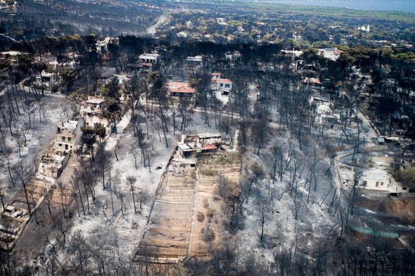 Incendie meurtrier à Mati en 2018