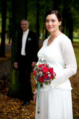 Hochzeitsfoto Promenade