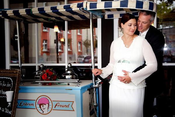 Hochzeitsfotos am Schloßtheater