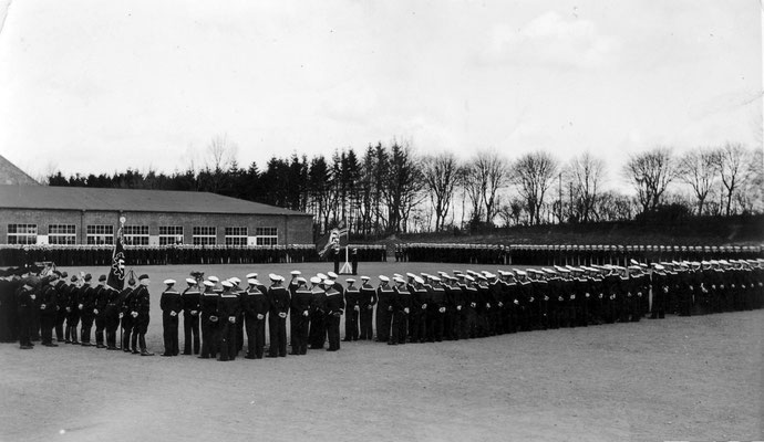 Vereidigung am 20. April 1938.