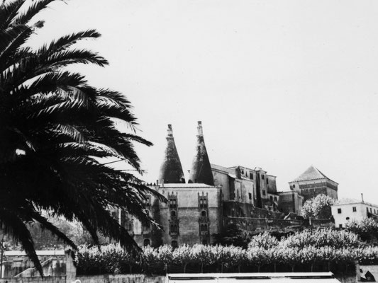 Eine maurische Festung.