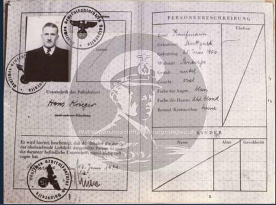 Hans Götz - alias Krieger, alias Smiger.