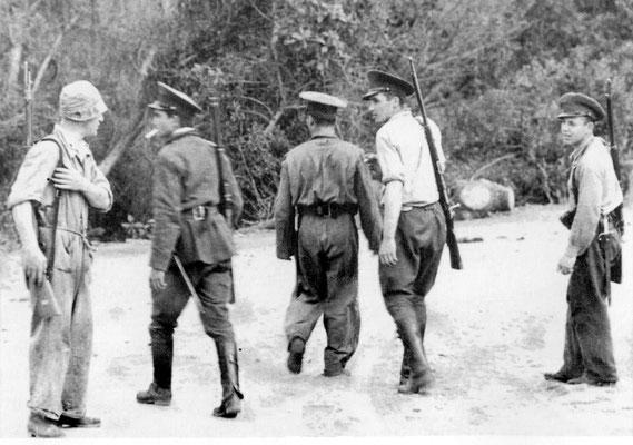 Wachwechsel auf der Insel Martín García.