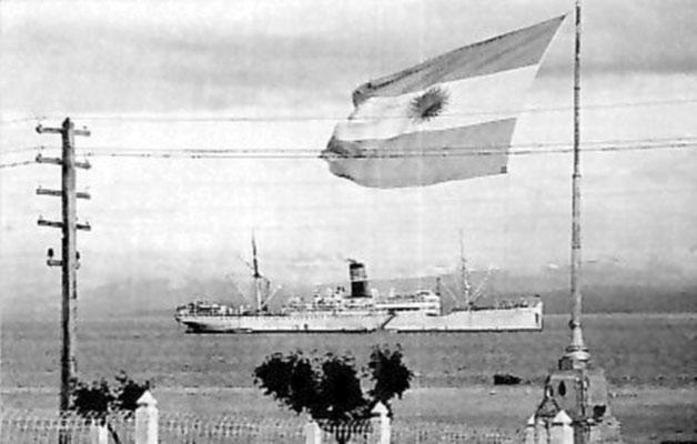 """Die """"Río Santa Cruz""""."""