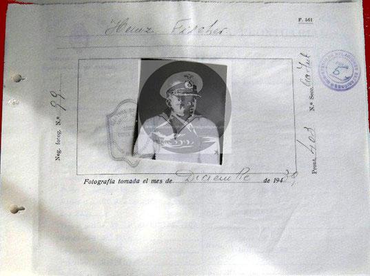 Cédula de Internación - eine Minimallösung.