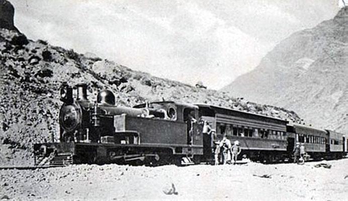 Die Transandenbahn.