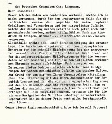 Protestnote - Seiten 1-4.