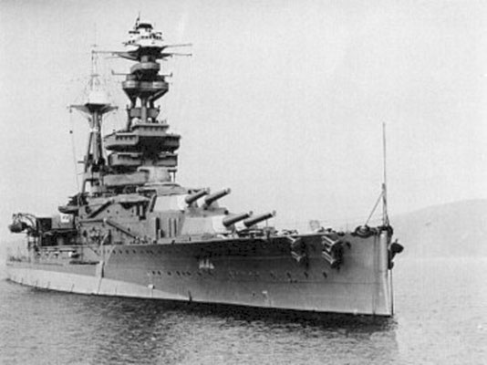 "Die HMS ""Royal Oak""."