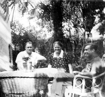 Die Patenfamilie Erwin und Juliane Lammel.