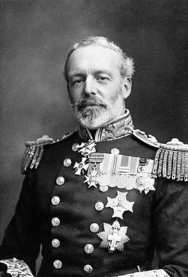 Admiral Sir Christopher Cradock.