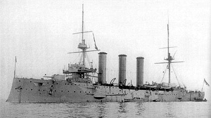 """HMS Monmouth""."