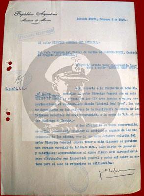 Dokument vom 08. Februar 1940