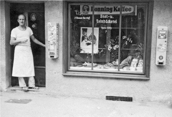 Die Bäckerei Götz in Blaubeuren.