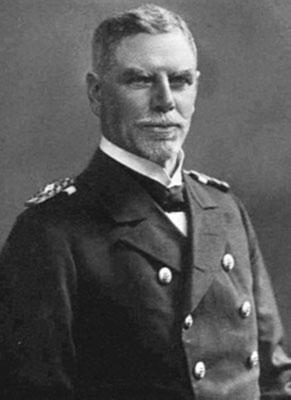 Vizeadmiral Maximilian Graf von Spee.