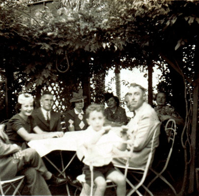 Die Patenfamilie Lindner.