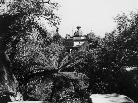 Monserrat - damals der größte Garten Europas.