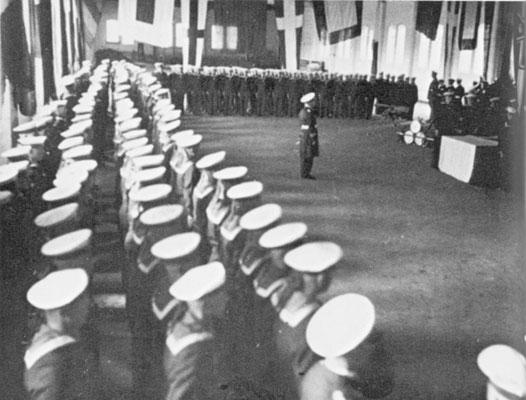 Vereidigung am 14. Juli 1933.