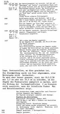 """KTB-Auszug """"Trevanion""""."""