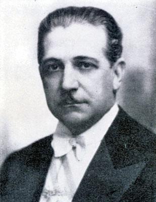 Präsident A. Baldomir.