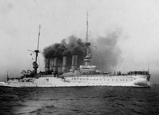 """SMS Scharnhorst""."