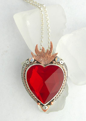 Red sacred heart #2