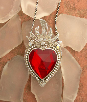 Red sacred heart #1