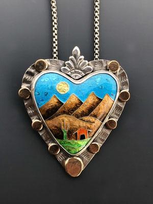 Cloisonne enamel four peaks arizona