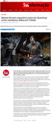 Ramón Recuero, um mestre ferreiro e Youtuber espanhol