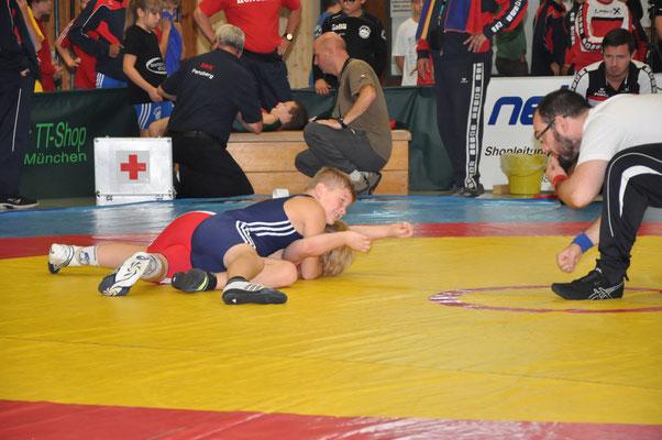 Noah Walder (Blau): Gold bis 40kg