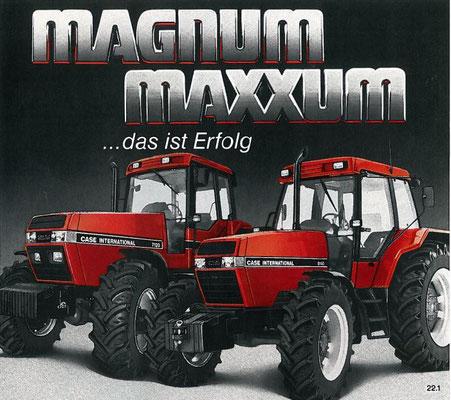 Case IH Maxxum 5140 und Magnum 7140