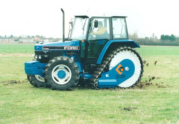 Ford 7740 SL Halbkette (Classic Tractor Magazine)