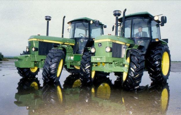 John Deere 2850 und John Deere 3350
