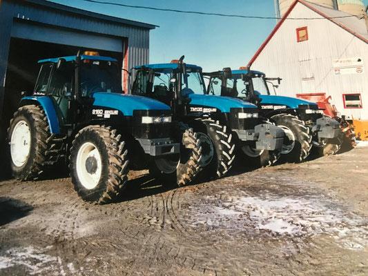 New Holland 8160 TM135 und TM165