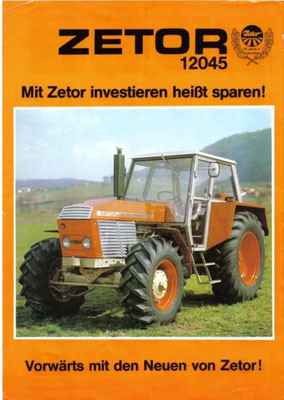 Zetor 12045 traktor
