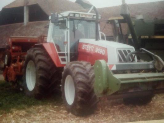 Steyr Traktor 9190