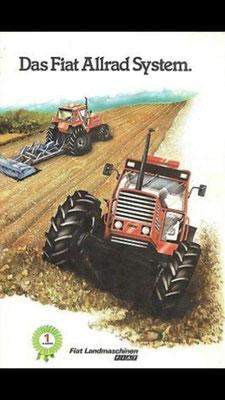 Das Fiat Traktor Allrad System