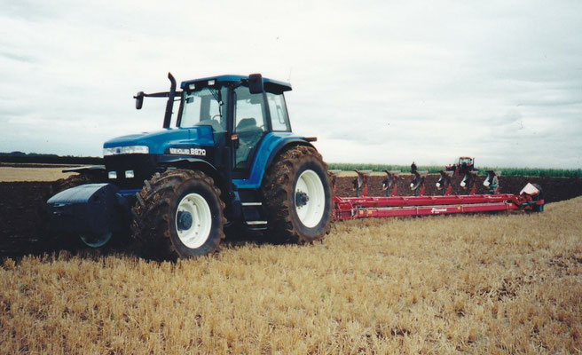 Ford New Holland 8870